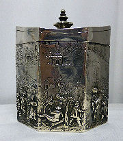 Figural Sterling Box