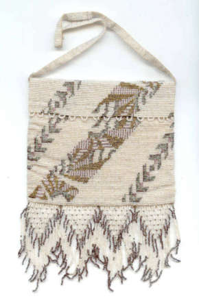 French Envelope Beaded Purse