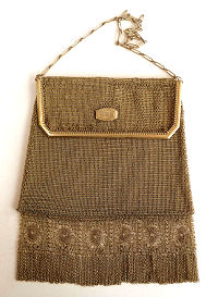 Whiting & Davis Mesh Purse