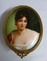 Portrait Jewelry Casket