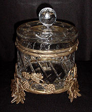 Crystal Jewelry Casket