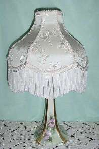 R. S. Germany Porcelain Lamp