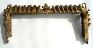 Jeweled Purse Frame