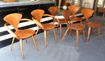 Set of 6 Plycraft Chairs
