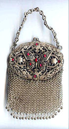 Jeweled Chatelaine Purse