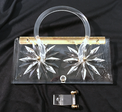 Lucite Purse Set